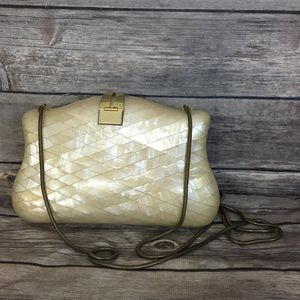 Vintage Shell Purse Made In Italy